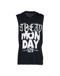 Cheap Monday   Black T-shirt for Men   Lyst