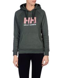 Helly Hansen - Green Sweatshirt - Lyst