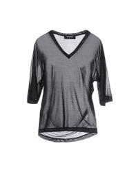 DSquared²   Black T-shirt   Lyst