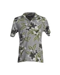 Hydrogen - Gray Polo Shirt for Men - Lyst