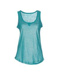 Majestic Filatures | Blue Tank Top | Lyst