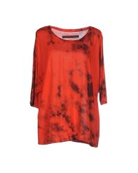 Enza Costa | Red T-shirt | Lyst