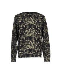 Marcelo Burlon | Green Allover Snake Cotton Sweatshirt for Men | Lyst