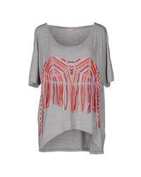 Sass & Bide - Gray T-shirt - Lyst