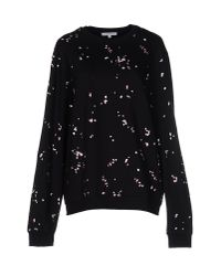 Carven - Black Sweatshirt - Lyst
