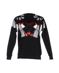 Les Hommes | Black Sweatshirt for Men | Lyst