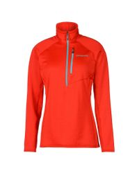 Patagonia - Red Sweatshirt - Lyst