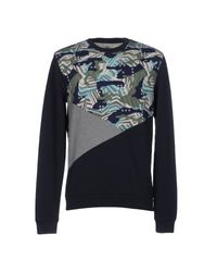 Fred Mello | Blue Sweatshirt for Men | Lyst