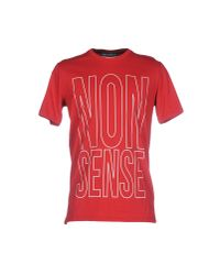 Frankie Morello   Red T-shirt for Men   Lyst