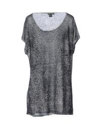 Avant Toi - Gray T-shirt - Lyst