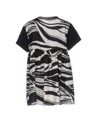 Moncler | Black T-shirt | Lyst
