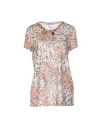 Blumarine - Gray T-shirt - Lyst