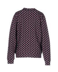Au Jour Le Jour - Black Sweatshirt - Lyst