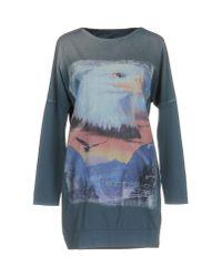 Athletic Vintage - Blue T-shirt - Lyst