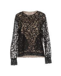 See By Chloé | Black Blouse | Lyst