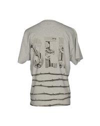 DIESEL - Gray T-shirt for Men - Lyst