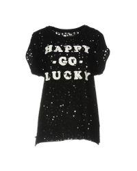 Pepe Jeans - Black T-shirt - Lyst