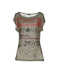 CoSTUME NATIONAL | Gray T-shirt | Lyst