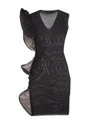 Antonino Valenti - Black Short Dress - Lyst