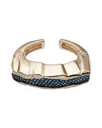 Roberto Cavalli - Blue Bracelet - Lyst