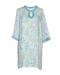 Matthew Williamson Escape | Green Kaftan | Lyst