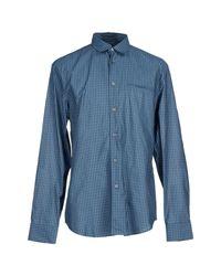 John Varvatos | Gray Shirt for Men | Lyst