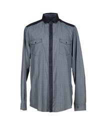 Tru Trussardi   Blue Shirt for Men   Lyst