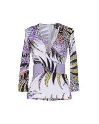 Just Cavalli - Multicolor T-shirt - Lyst