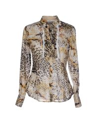 Henry Cotton's - Natural Shirt - Lyst