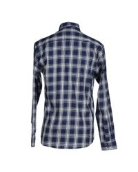 SELECTED | Blue Shirt for Men | Lyst