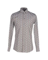 Dolce & Gabbana   Gray Shirt for Men   Lyst