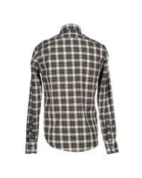 M. Grifoni Denim | Green Shirt for Men | Lyst