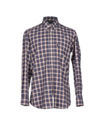 Barbour | Blue Shirt for Men | Lyst