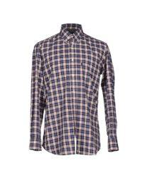 Barbour - Blue Shirt for Men - Lyst