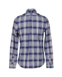 Woolrich | Blue Long-sleeve Rock Pass Woven Shirt for Men | Lyst