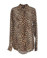 Equipment | Slim Signature in Brownanimal Print | Lyst