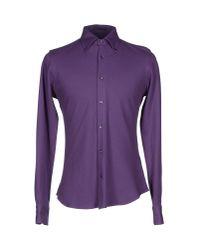 Allegri - Purple Shirt for Men - Lyst