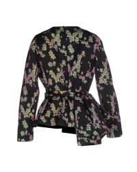 Dries Van Noten | Black Blouse | Lyst