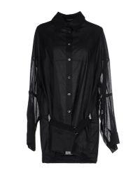 Ann Demeulemeester | Black Shirt | Lyst