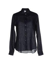 Aspesi - Black Shirt - Lyst