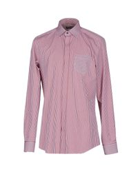 Dolce & Gabbana - Red Shirt for Men - Lyst