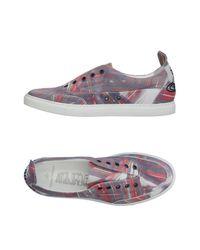 Vivienne Westwood - Gray Low-tops & Sneakers - Lyst