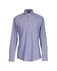 BOSS Black - Purple Shirt for Men - Lyst