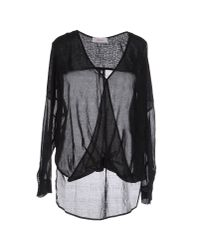Jucca | Black Blouse | Lyst