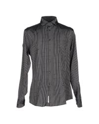 Class Roberto Cavalli - Black Shirt for Men - Lyst