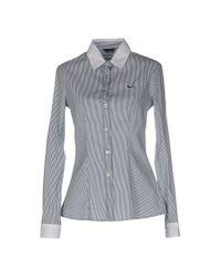 Harmont & Blaine - Gray Shirt - Lyst