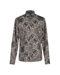 Just Cavalli | Green Shirt for Men | Lyst