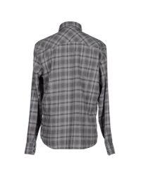 Gas - Gray Shirt for Men - Lyst