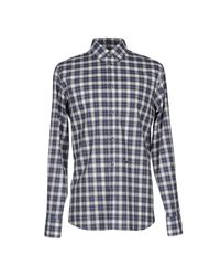 DSquared² - Blue Shirt for Men - Lyst