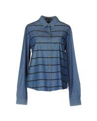 Le Mont St Michel | Blue Shirt | Lyst